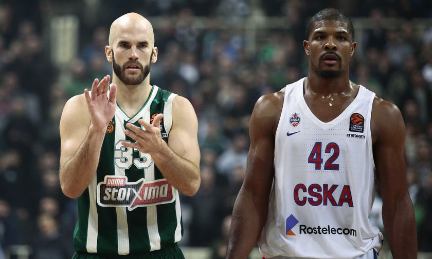 EuroLeague: Δύσκολη αποστολή στη Μόσχα ο Παναθηναϊκός