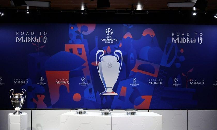 Αυτά είναι τα τέσσερα ζευγάρια του Champions League