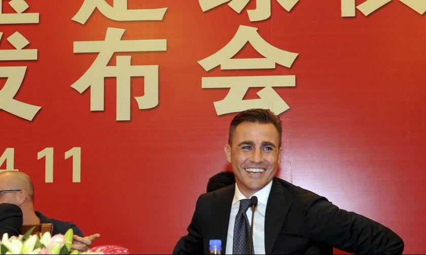Προπονητής της εθνικής Κίνας ο Καναβάρο