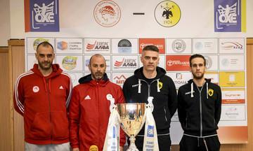 Τσιλιμπάρης: «Το Κύπελλο είναι ένας από τους δύο μεγάλους στόχους της χρονιάς»