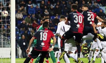 Serie A: «Ανάσα» για την Κάλιαρι, 2-1 τη Φιορεντίνα