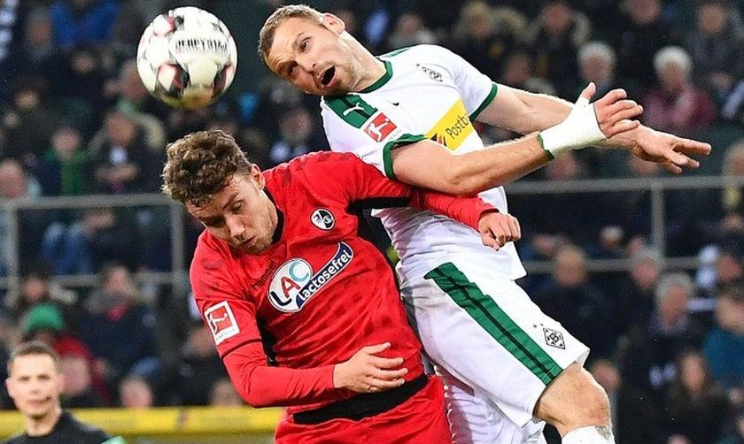 Bundesliga: «Κόλλησε» στο 1-1 η Γκλάντμπαχ με τη Φράιμπουργκ