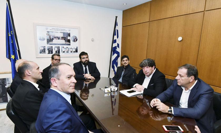 Σύσκεψη υπό τον Βασιλειάδη: Ένταση, σόου Γιαννακόπουλου και καμία οριστική απόφαση