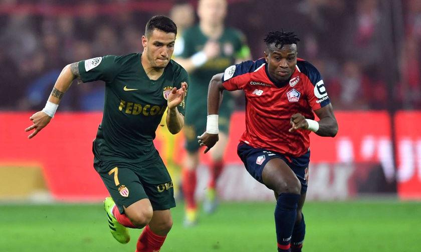 Ligue 1: Τρίποντο στο 90' η Μονακό στη Λιλ (0-1)