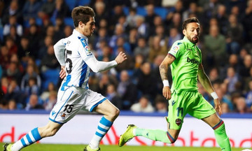 La Liga: Μοιρασιά για Σοσιεδάδ και Λεβάντε (1-1)