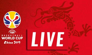 LIVE: Η κλήρωση για το Παγκόσμιο Κύπελλο 2019 της Κίνας