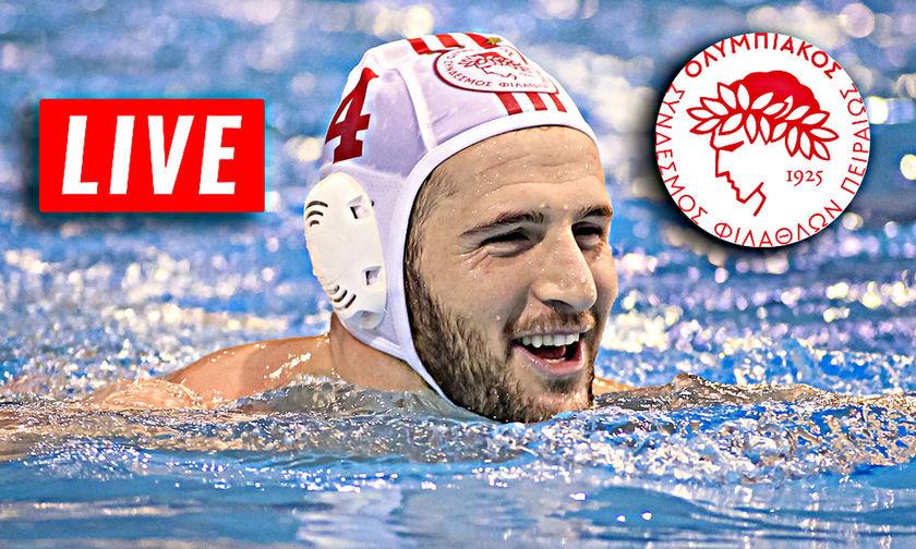 LIVE: Ολυμπιακός - Ζόλνοκ