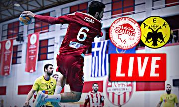 LIVE: Ολυμπιακός - ΑΕΚ (17:00)