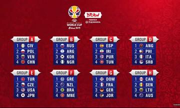 2019 FIBA Basketball World Cup: To πρόγραμμα της Εθνικής