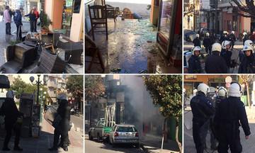 Σοβαρά επεισόδια στο Αγρίνιο από οπαδούς του ΠΑΟΚ και του Παναιτωλικού (vid & pics)