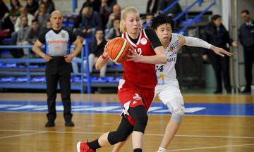 Νίκη Λευκάδας-Ολυμπιακός 45-64: Άνετο πέρασμα από τη Λευκάδα