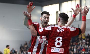 Ολυμπιακός-ΑΕΚ 23-13: Κυπελλούχοι Ελλάδας οι «ερυθρόλευκοι»