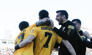 Ατρόμητος-ΑΕΚ 0-1: Τα highlights της αναμέτρησης