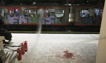 Επίθεση αγνώστων στον ηλεκτρικό στον σταθμό του Περισσού