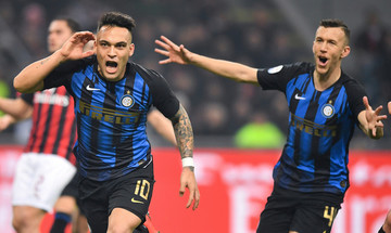 Serie A: «Αφεντικό» του Μιλάνου η Ίντερ, 3-2 τη Μίλαν (vid)