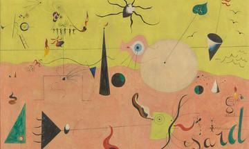 O ποιητικός τρόπος που ονειρευόταν και ζωγράφιζε τον κόσμο ο Μιρό