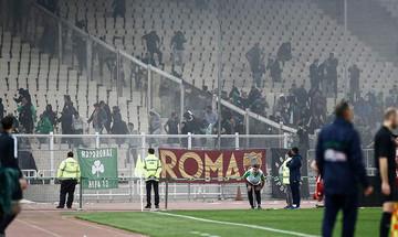 Απαγόρευση εισόδου στα γήπεδα στους συλληφθέντες των επεισοδίων στο ΟΑΚΑ