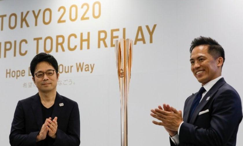 Παρουσιάστηκε η δάδα του «Τόκιο 2020»