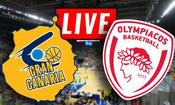 LIVE: Γκραν Κανάρια - Ολυμπιακός (22:30)