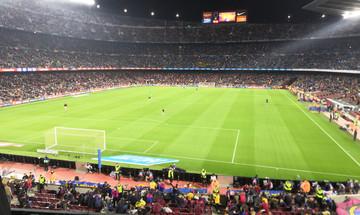 Ελλάδα, Θρύλος και στην Ισπανία (Camp Nou, pics)