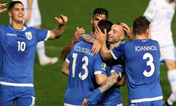 Προκριματικά Euro2020: Η Κύπρος 5-0 το Σαν Μαρίνο (highlights)