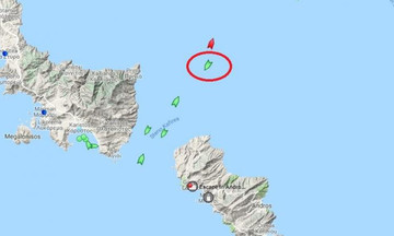 Συναγερμός στο Αιγαίο: Ακυβέρνητο πλοίο ανοιχτά της Άνδρου με 9 Μποφόρ