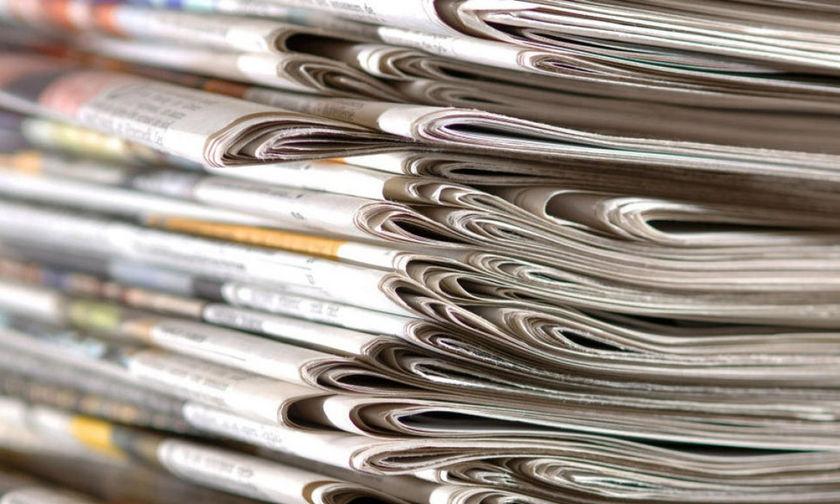 Εφημερίδες: Τα πρωτοσέλιδα της Κυριακής, 24 Μαρτίου