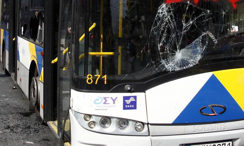 Επίθεση με αεροβόλο σε λεωφορείο του ΟΑΣΑ