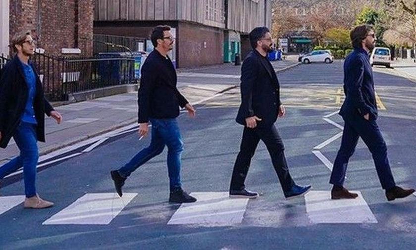 Φωτογραφία Όντο, Γκατούζο, Αμπροζίνι, Πίρλο αλά Beatles!