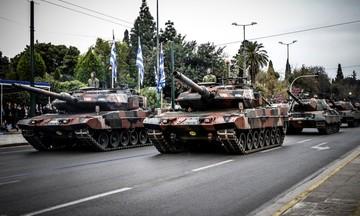 Αθήνα: Δρακόντεια μέτρα ασφαλείας για τη στρατιωτική παρέλαση- ποιοι δρόμοι κλείνουν