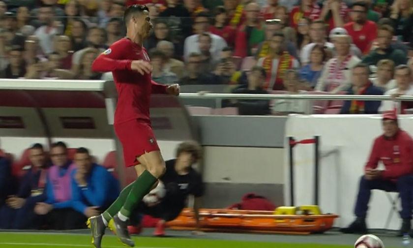 Τα δύο γκολ στο Πορτογαλία-Σερβία και η αποχώρηση του Ρονάλντο (vids)