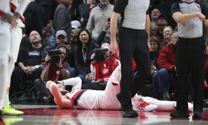 Σοκαριστικός τραυματισμός του Νούρκιτς - Διέλυσε το πόδι του (vid)