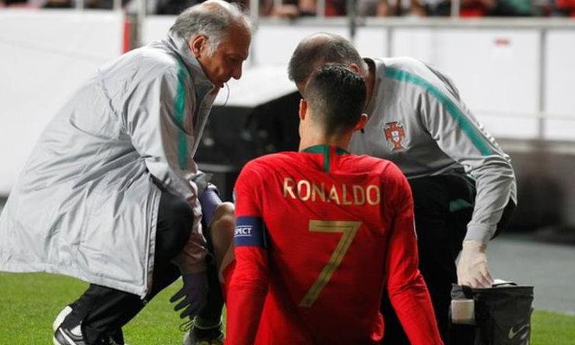 Δεν ανησυχεί για τον τραυματισμό του ο Ρονάλντο