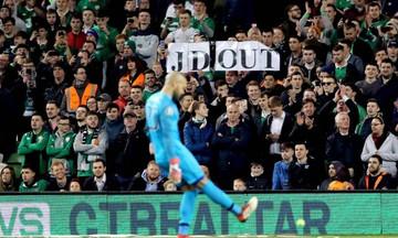 Ιρλανδία: Διαμαρτυρία με... μπαλάκια του τένις (vid)