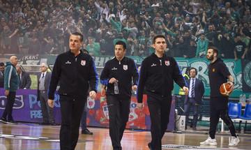 Basket League: Ο Αναστόπουλος διαιτητής στο Περιστέρι-Παναθηναϊκός