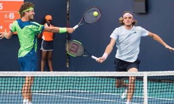 Miami Open: Στους «4» στο διπλό Τσιτσιπάς- Κούλχοφ