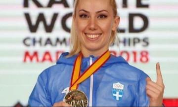 Εξασφάλισε μετάλλιο η Χατζηλιάδου στο Ευρωπαϊκό καράτε
