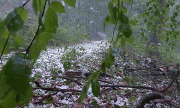 Η κακοκαιρία συνεχίζεται: Καταιγίδες, χαλάζι και θυελλώδεις άνεμοι σήμερα