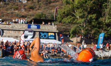 Oceanman Greece: Κολυμβητές από ολοκληρο τον κόσμο πιάνουν... Λιμένι!
