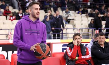 Στο ΣΕΦ ο Φορτούνης για τον «τελικό» Ολυμπιακός - Ζαλγκίρις