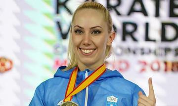 Ασημένιο μετάλλιο στο Ευρωπαϊκό καράτε η Χατζηλιάδου
