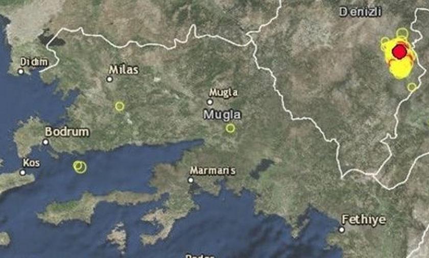 Σεισμός 4,9 Ρίχτερ στην Τουρκία -«Κουνήθηκαν» και στα Δωδεκάνησα
