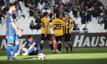 ΑΕΚ - Παναιτωλικός 4-0: «Περίπατος» στο ΟΑΚΑ