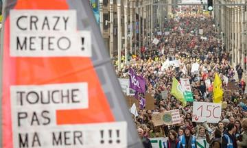 Βέλγιο: Χιλιάδες άνθρωποι διαδήλωσαν για την κλιματική αλλαγή