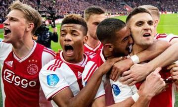 """Άγιαξ-Αϊντχόφεν 3-1: Πήρε το ντέρμπι και την κορυφή ο """"Αίαντας"""" (highlights)"""