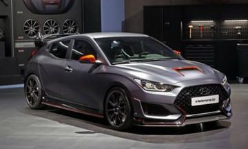 Hyundai N Performance Car γεμάτο ανθρακονήματα