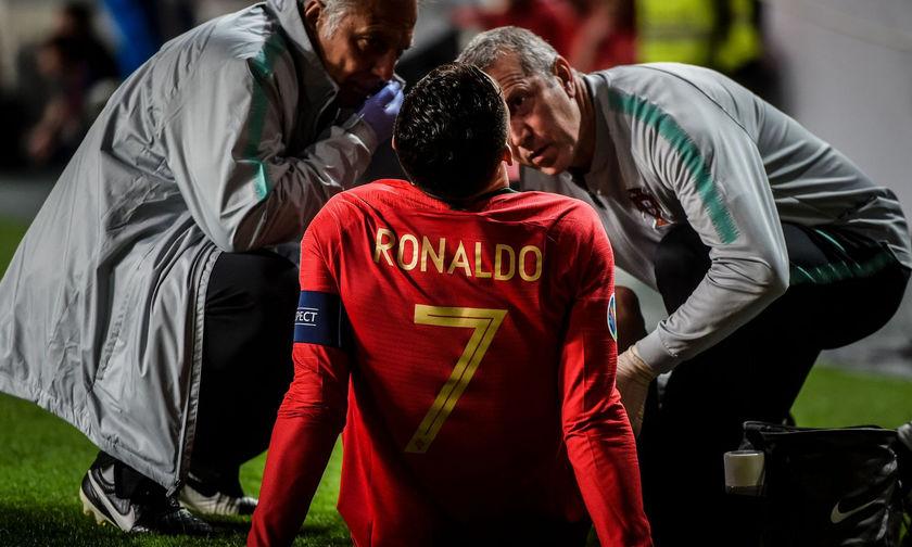 Δύσκολα θα προλάβει ο Κριστιάνο Ρονάλντο το πρώτο ματς με τον Άγιαξ