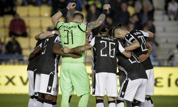 Η αποστολή του ΠΑΟΚ για το ματς Κυπέλλου με τον Αστέρα