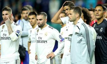 Προ της εξόδου 13 παίκτες της Ρεάλ Μαδρίτης!