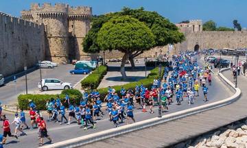Ρεκόρ στο Μαραθώνιο Ρόδου με δρομείς από 46 χώρες!